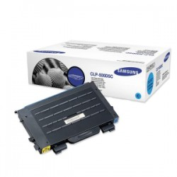 Samsung CLP-500D5C/ELS Toner, 5000 Seiten, cyan